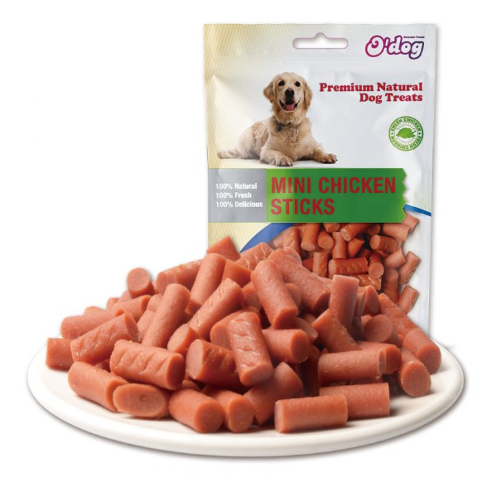 Mini Chicken Sticks Shandong Factory Supplies Best Selling for dog premium natural dog dental training treats O'dog myjian