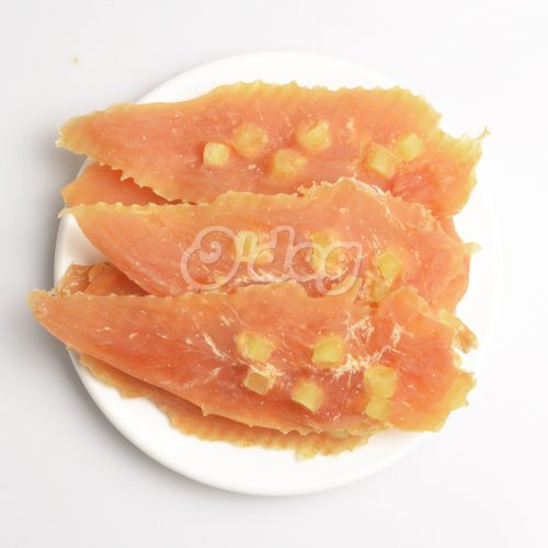 Chicken Jerky With Cheese Shandong Factory Supplies Best Selling for dog premium natural dog dental training treats O'dog myjian