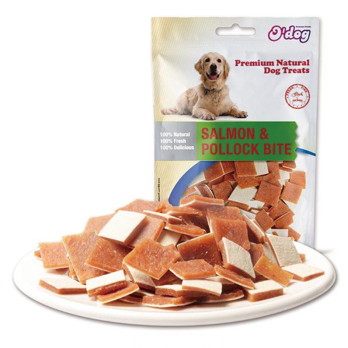 Salmon and pollock bite high nutrition pet snacks pet training treats wholesale dog seafood snacks dog snacks