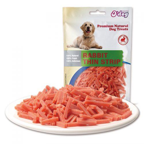 Rabbit Thin Trips Shandong Supplies Best Selling for dog premium natural dog dental training treats O'dog myjian