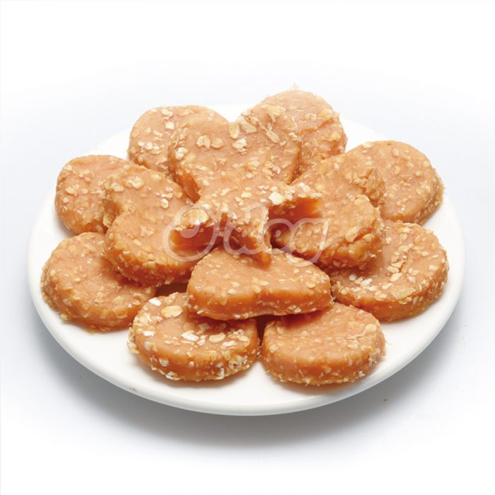 Luxury pet supplies 2021dog food supplier chicken and oatmeal treats pet dry food