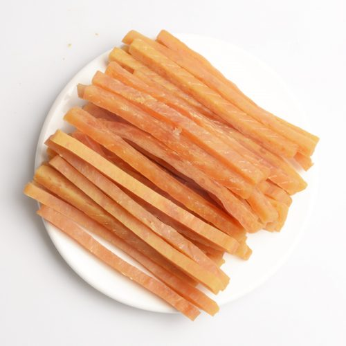 Shandong Factory Supplies Best Selling Chicken Jerky Strips for dogs premium natural dog dental training treats O'dog myjian