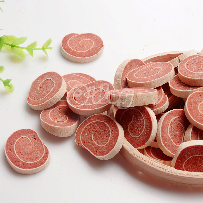 High quality duck meat big sushi dog snacks high protein pet food oem dog training treats wholesale pet dry snacks manufacture