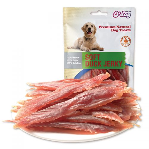 Original duck meat jerky 100% natural dog food pet snacks dog treats oem wholesale pet food private label duck meat fillet