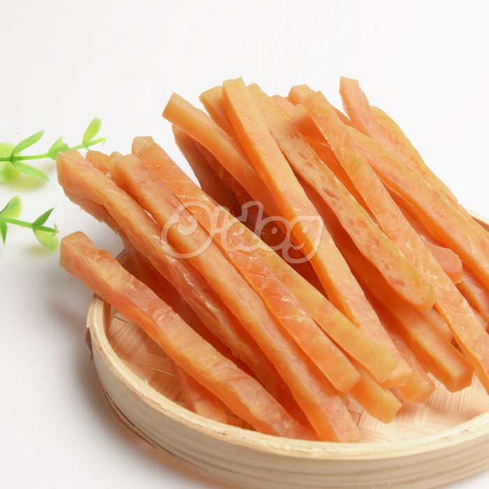 100% Natural organic soft chicken breast Jerky dry dog chicken fillet snack food wholesale pet treats dog chew snacks