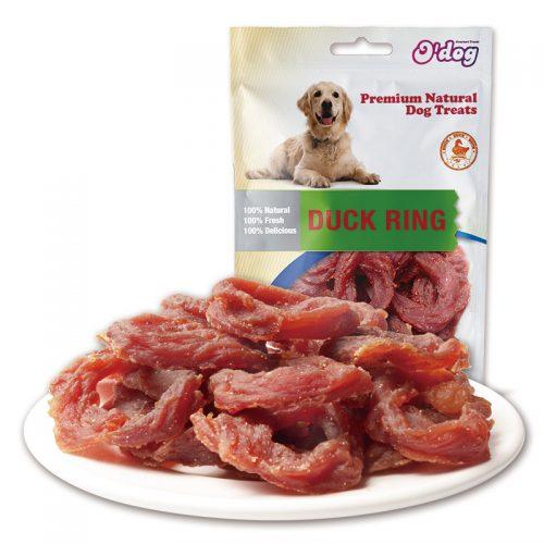 Duck Ring Shandong Supplies Best Selling for dog premium natural dog dental training treats O'dog myjian